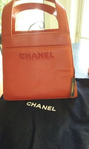 Coral Red CHANEL Handbag/Purse for Sale in Deltona, FL