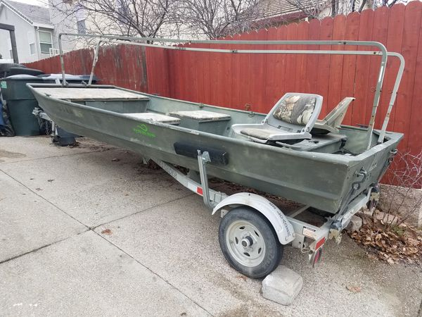Duck Hunting Boats For Sale >> Fishing Boat Duck Hunting Flat Bottom For Sale In Sacramento Ca