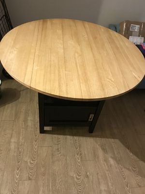 Crate and Barrel Belmont Black high dining table for Sale in Falls Church, VA