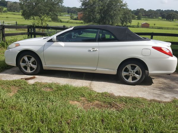 2005 Toyota Solara Convertible 165 000 Miles