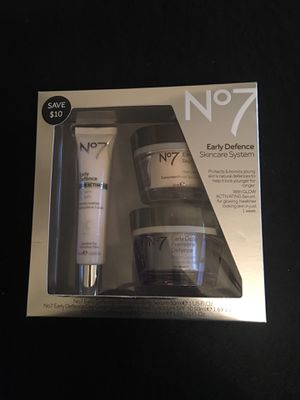 No7 Early Defence Skincare System for Sale in Portland, OR