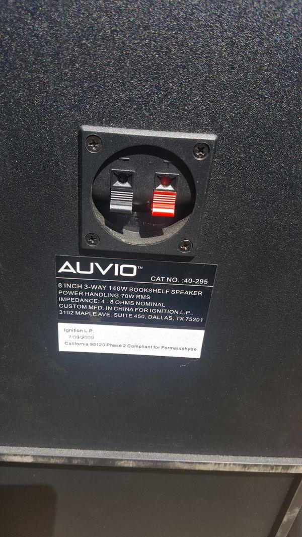 Auvio Speakers For Sale In Fair Oaks CA