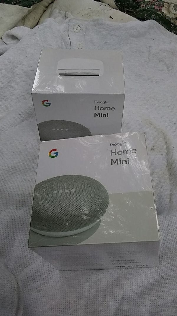 Google home mini 2 pack for Sale in Fremont, CA - OfferUp