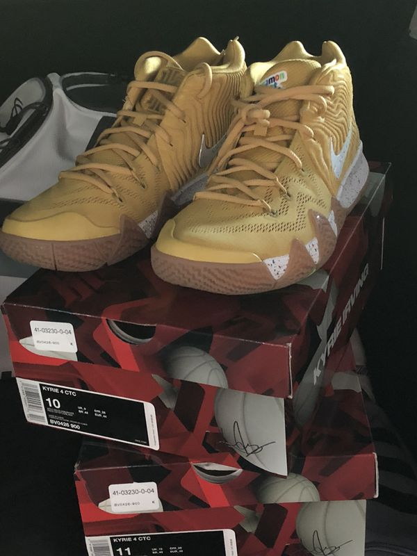 dabc2c73fd9f Kyrie Irving ... Cinnamon Toast Crunch Size 10   11 for Sale in ...