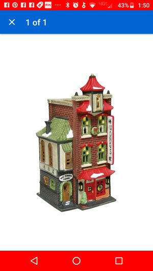 Dept 56 Christmas in the city buildings for Sale in Seattle, WA