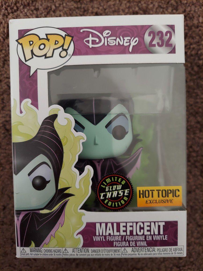 Maleficent Funko Chase Pop Gitd Rare Htf!!!