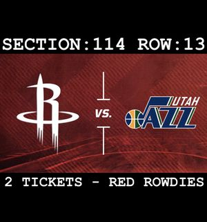 Houston Rockets vs Utah Jazz Tickets for Sale in Houston, TX