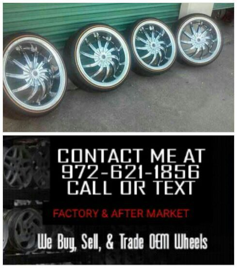 20 Inch Rims With Vogue Tires For Sale In Irving Tx Offerup