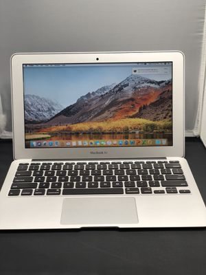 """Apple MacBook Air 11"""" inch 1.7ghz i5 64gb 2gb ram mid 2012 with Mac OS 10.13 high Sierra ++Microsoft office and apple OEM CHARGER ,3MONTH WARRANTY for Sale in Dallas, TX"""