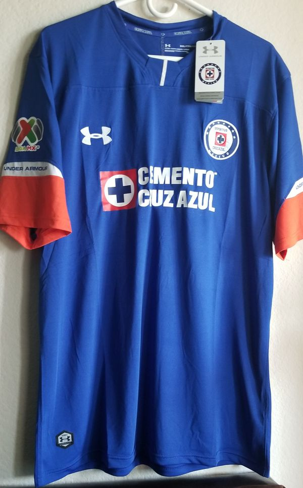 582681399a5 Under armour 18/19 cruz azul home JERSEY for Sale in Phoenix, AZ - OfferUp