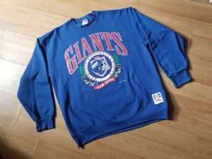 Vintage New York Giants Crew Neck Sweater Blue Red White for Sale in Washington, DC