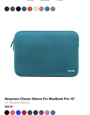 Macbook cases! New in box all colors 15 inch for Sale in Miami, FL