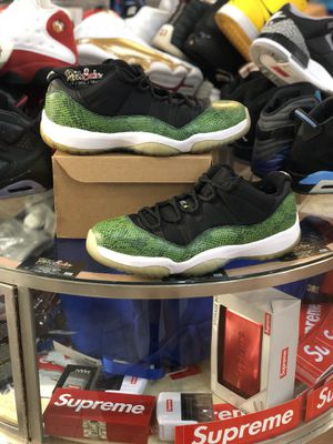 Green Snakeskin 11 Lows size 11 for Sale in Silver Spring, MD