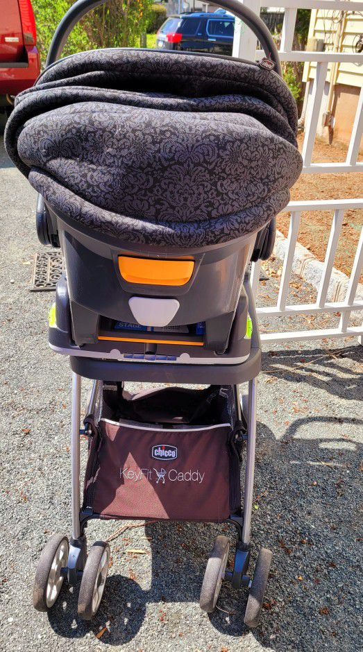 Chico Cat Seat With Stroller