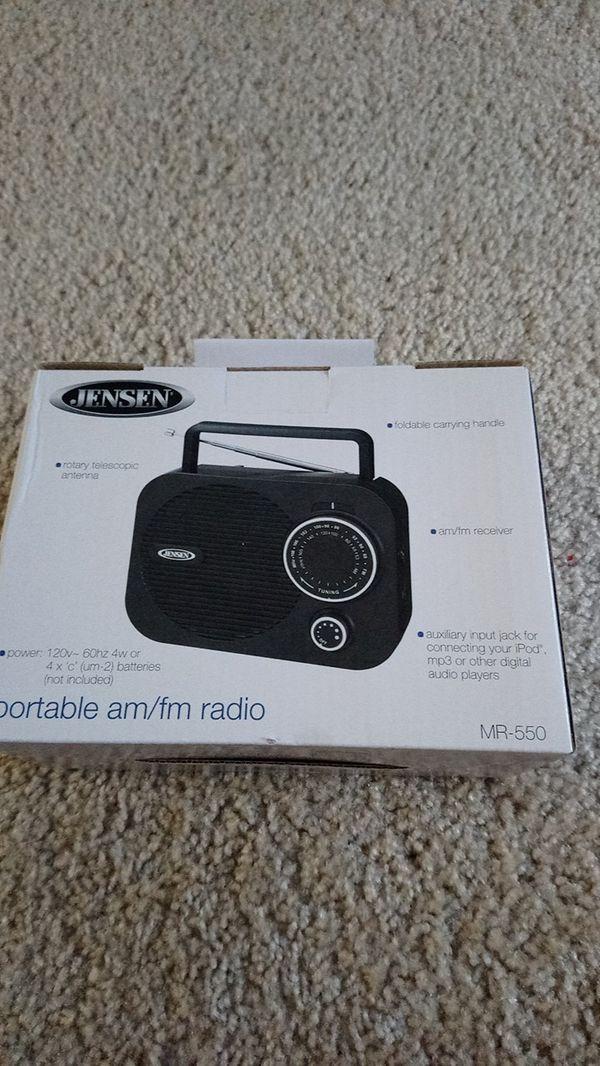 Jensen MR 550 Am Fm Radio For Sale In Redmond WA