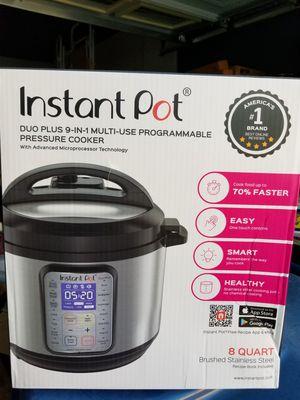 Instant Pot Duo Plus 8 Quart for Sale in Las Vegas, NV