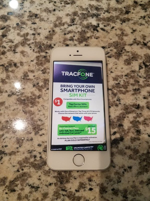 NEW IPHONE 5S 16GB PRE PAID TRACFONE ALREADY HAS SIM CARD JUST NEED TO  Activate for Sale in San Diego, CA - OfferUp