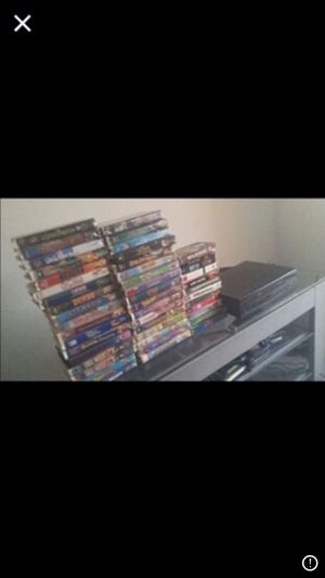 VCR set with all tapes included for Sale in Miami, FL