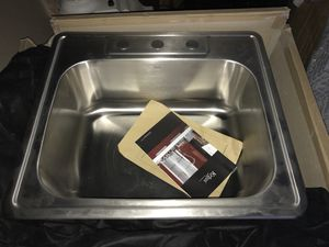Kraus single bowl drop in sink for Sale in East Rutherford, NJ