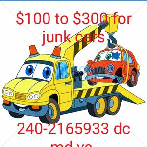Junk cars $100 to $300 for Sale in UNIVERSITY PA, MD