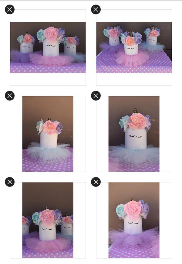 Unicorn Mason Jar Centerpiece For Sale In Rialto Ca Offerup