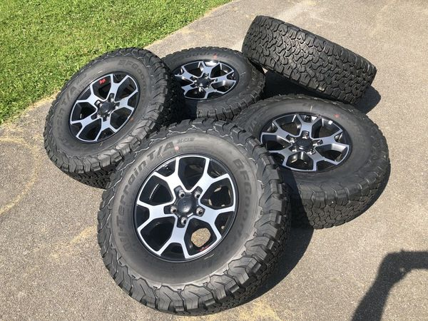 2018 Jeep Rubicon Wheels Just Rims Brand New