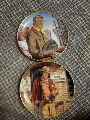 John Wayne collectable plates for Sale in Miami, FL