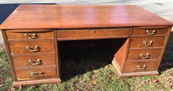 Jasper Furniture Company Vintage Executive Desk (Antiques) in Providence,  RI - OfferUp - Jasper Furniture Company Vintage Executive Desk (Antiques) In