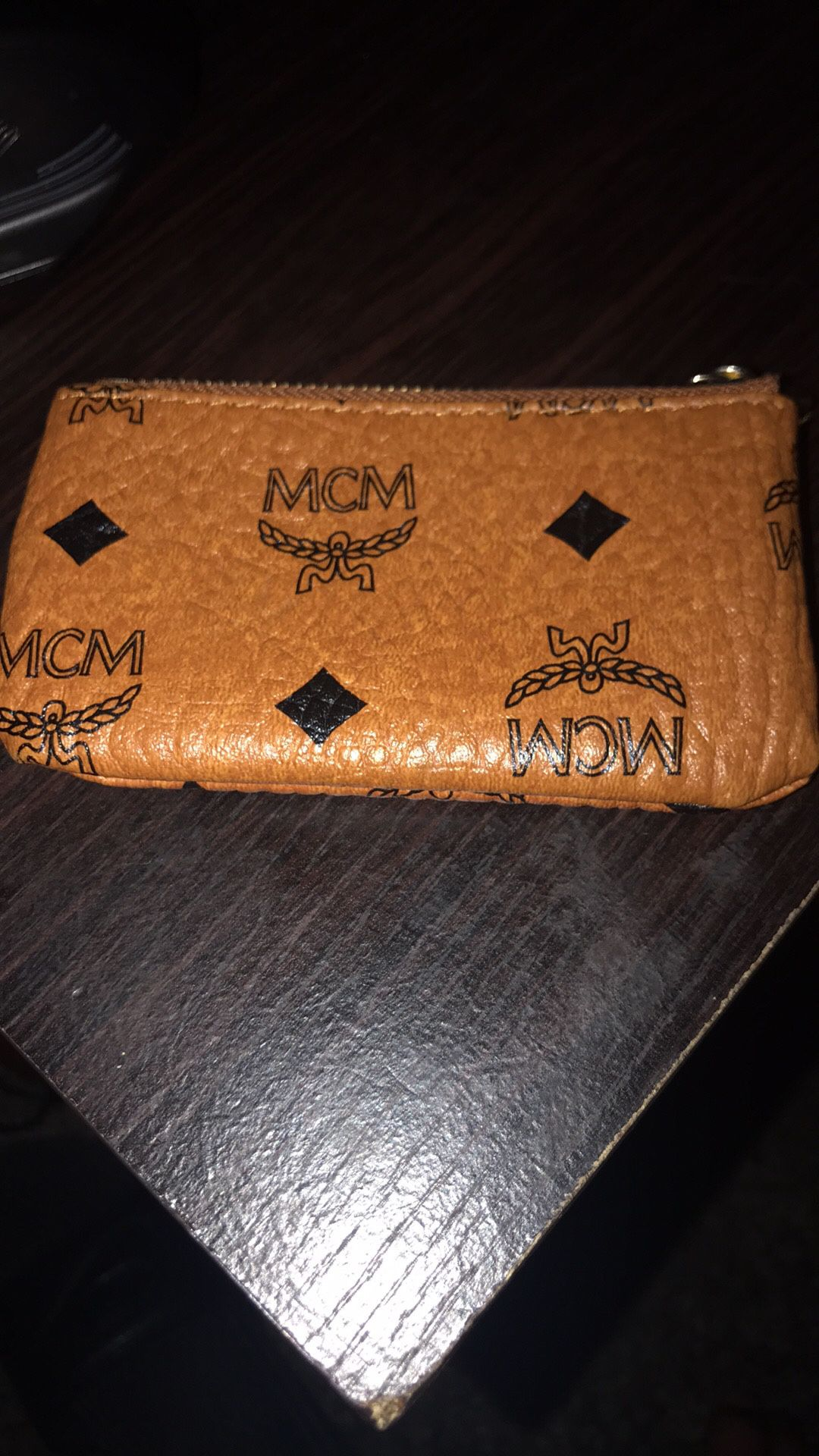 mcm coin / card wallet