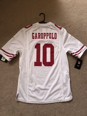 brand new ddf82 c5fc1 49ers Jimmy Garoppolo Jersey Nike Game for Sale in San Jose, CA - OfferUp