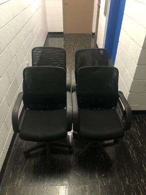 4 office chairs with adjustable height for Sale in Washington, DC