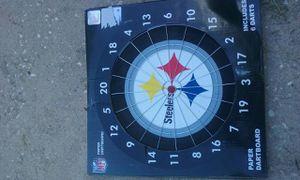 Pittsburgh Steelers Dart Board For
