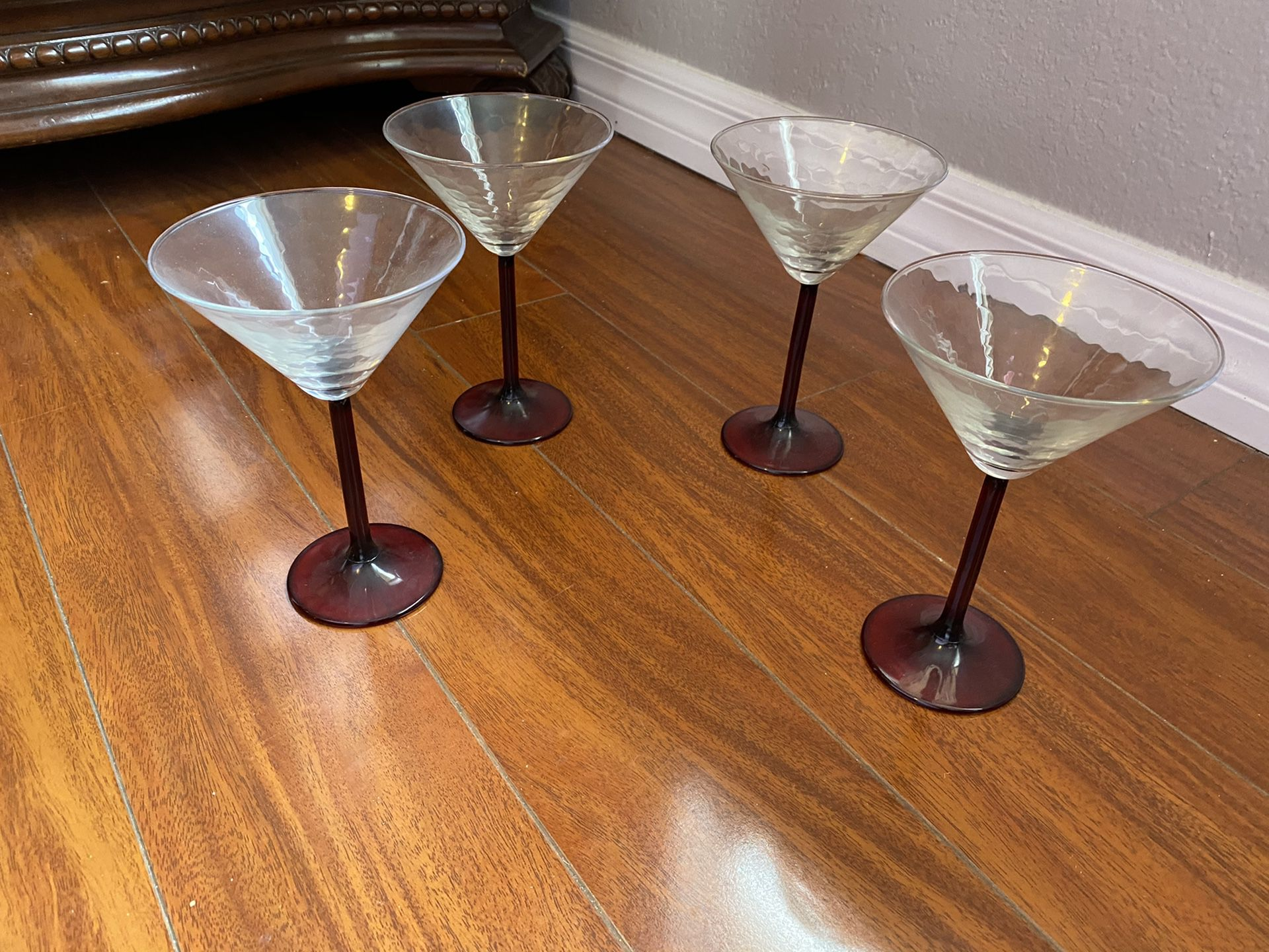 Martini Glass Cups set of 4