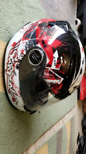 Scorpion EXO Urban destroyer Full face Large motorcycle helmet with carrying case for Sale in Leesburg, VA