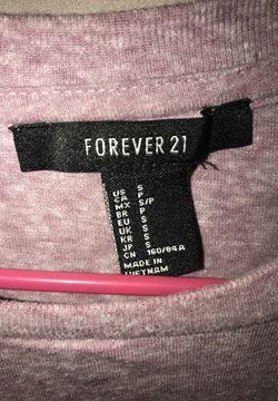 Light Purple Forever21 Shirt , Size Small Thumbnail