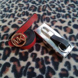 Women Mk belt and Rivera key ring. Thumbnail