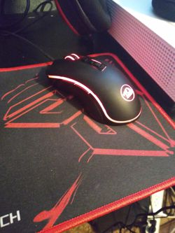 Red dragon keyboard, mouse and mousepad Thumbnail
