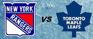 New York Rangers Vs Toronto Maple Leafs for Sale in New York, NY