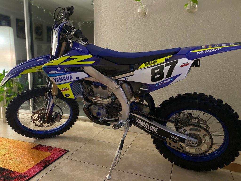 Photo Yamaha YZ250FX