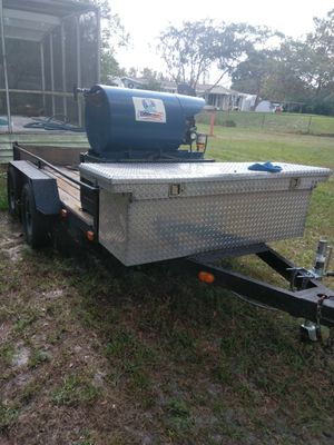 5*10 Dual axel utility trailer for Sale in Tampa, FL