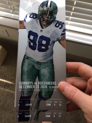 Cowboys tickets for Sale in Dallas, TX