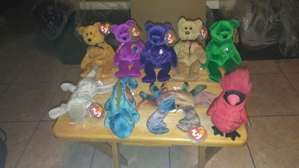 Ultra rare beanie babies with errors misprints for Sale in Cape ... ae361fee89c