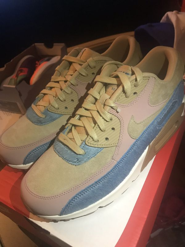 """promo code 2a026 9b26e WOMENS AIR MAX 90 LX """"PONY HAIR"""" (SZ 7.5) for Sale in Brentwood, TN -  OfferUp"""