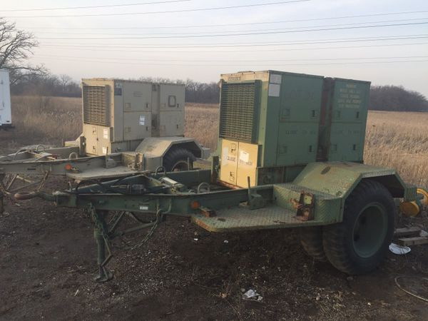 Military 15kw diesel generators for Sale in McHenry, IL - OfferUp