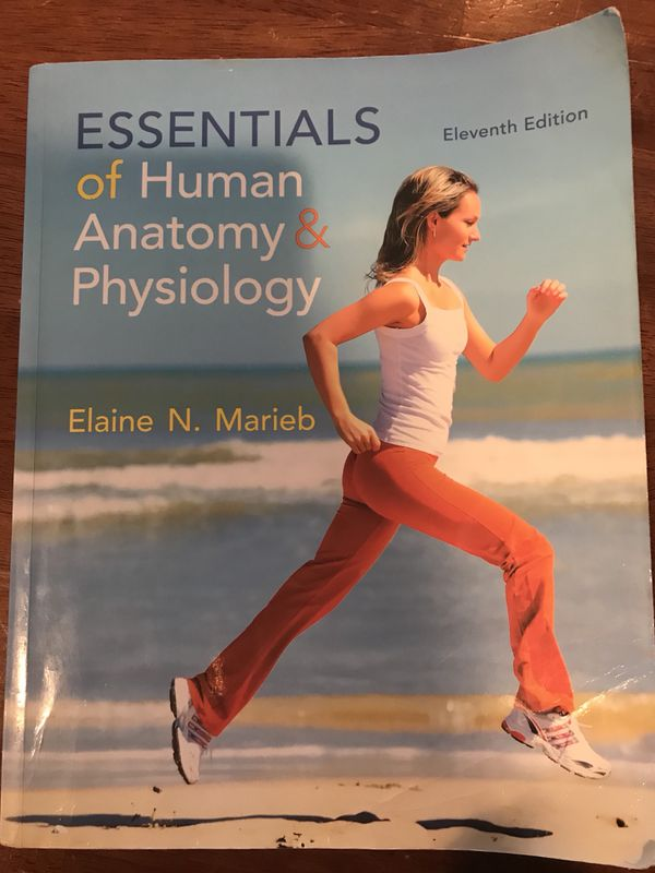 College biology book/ Essentials of Human Anatomy and Physiology for Sale  in Joliet, IL - OfferUp