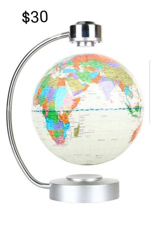 Floating Globe, Office Desk Display Magnetic Levitating and Rotating Planet Earth Globe Ball for Sale in Herndon, VA