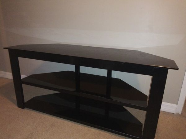 Glass Tv Stand 55 To 65 Inch For Sale In Jacksonville Fl Offerup