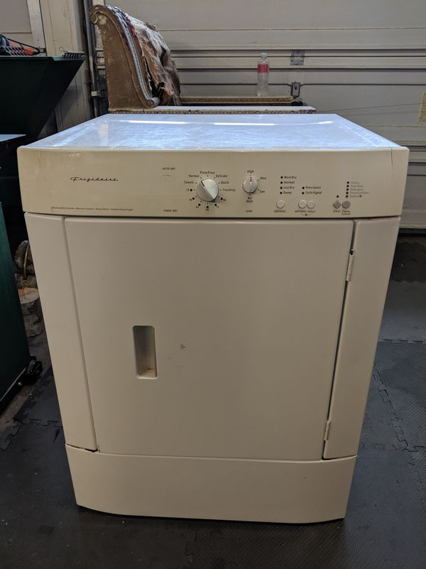 Free Electric Frigidaire Dryer For Sale In Sumner Wa