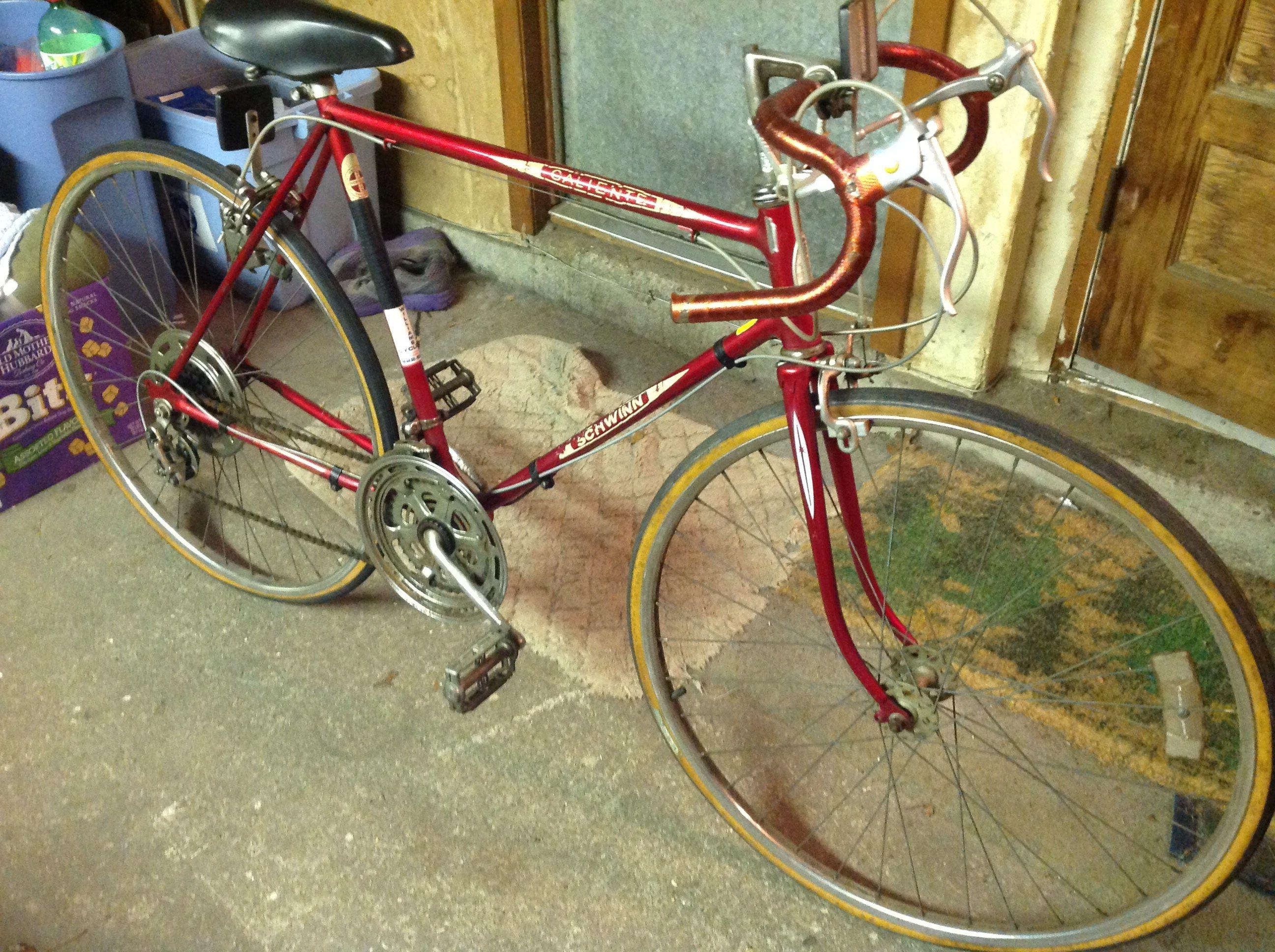 Vintage 1979 Schwinn Caliente 10 Speed Bike