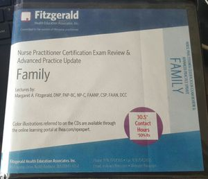 Family nurse practitioner certification exam and review for Sale in Phoenix, AZ